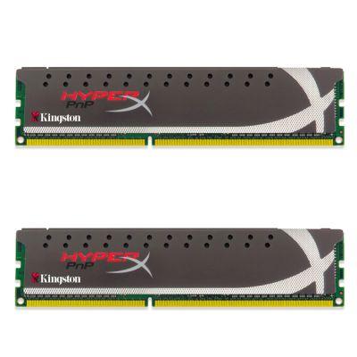 ����������� ������ Kingston DIMM 16GB 1600MHz DDR3 Non-ECC CL10 (Kit of 2) HyperX Plug n Play KHX16C10P1K2/16