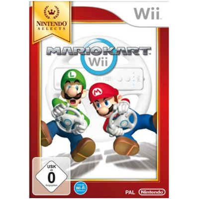 Игра для Nintendo (Wii) Selects: Mario Kart (without wheel)