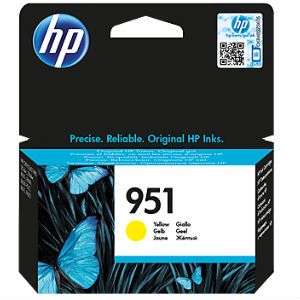 Картридж HP 951 Yellow/Желтый (CN052AE)