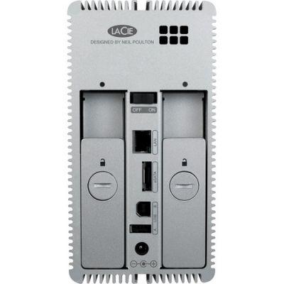 Сетевое хранилище LaCie двухдисковое 2big Quadra 6TB 9000354
