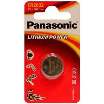Батарейки Panasonic 3W 90mAh (1шт) CR2032EL