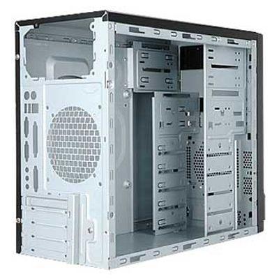 Корпус InWin Mini Tower Black/Silver 450W EMR-001 6101070