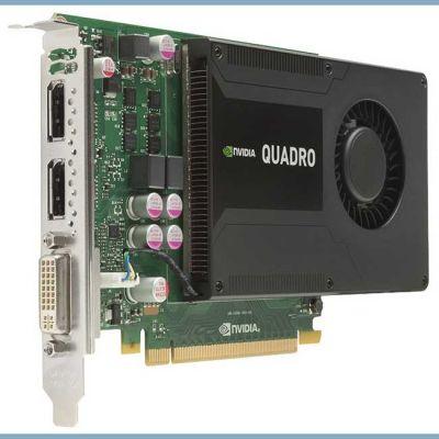 Видеокарта Lenovo Quadro K2000 PCI-E 2.0 2048Mb 128 bit DVI