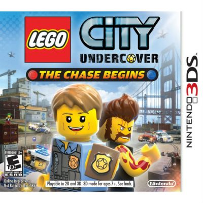 Игра для Nintendo (3DS) Lego City Undercover: The Chase Begins