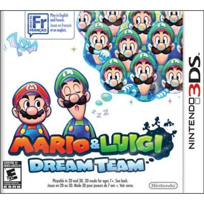 Игра для Nintendo (3DS) Mario & Luigi: Dream Team