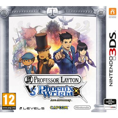 Игра для Nintendo (3DS) Professor Layton vs Phoenix Wright: Ace Attorney