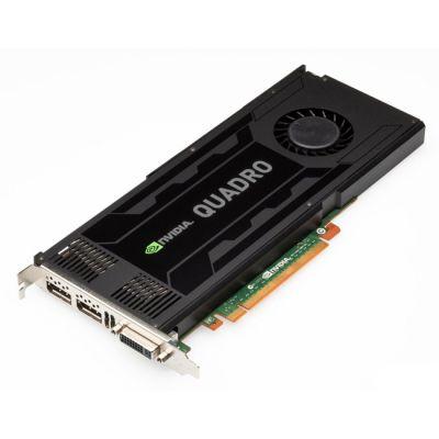 Видеокарта HP NVIDIA Quadro K4000 3 ГБ DL-DVI+2xDP
