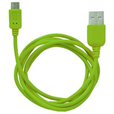 Кабель Human Friends MicroUSB to USB Super Link Rainbow M Green