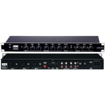 Микшерный пульт ART рэковый 3 mic/ line (XLR) MX622