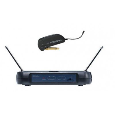 Микрофон Pasgao радиосистема с гитарным передатчиком PAW110+PG20