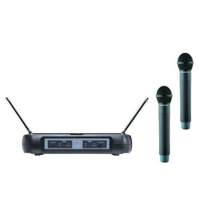Микрофон Pasgao радиосистема двойная PAW120R/PAH315