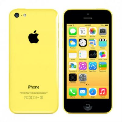 Смартфон Apple iPhone 5c 8GB Yellow MG8Y2RU/A