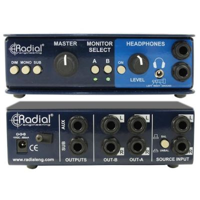 Усилитель Radial контроллер для студийных мониторов MC 3