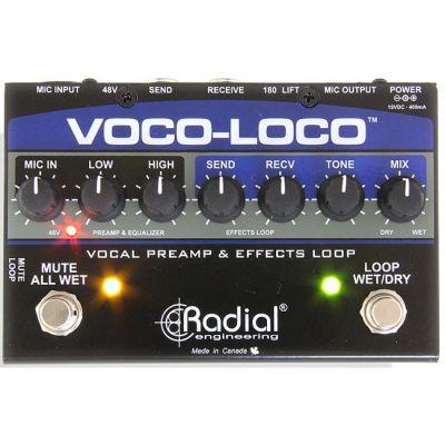 ��������� Radial ��� ������ � ������������ Voco-Loco