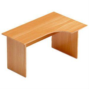 Стол ONNO с вырезом (правый) 1400*600*750