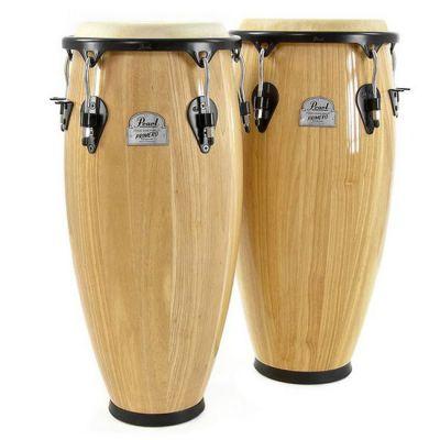 "Pearl Primero Wood Conga Set 10""&11"" PWC-202/511"