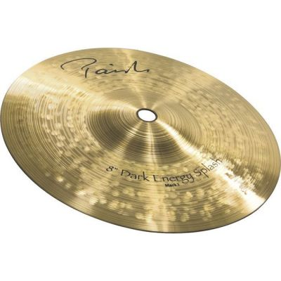 "Тарелка Paiste 08"" Splash Mark I (New Signature) Dark Energy"