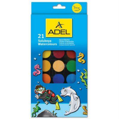 Adel Акварельные краски 229-0931-000 (21 цвет) 229 0931 000