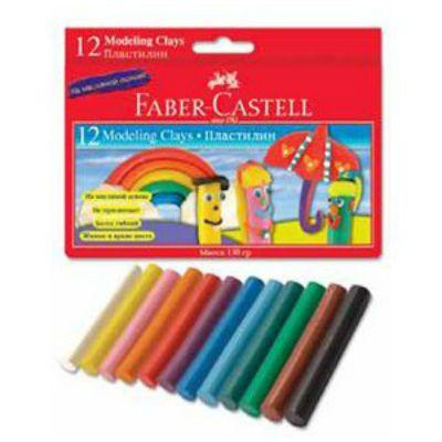 Faber-Castell Пластилин 12 цветов 120003