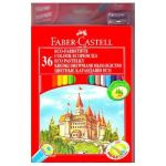 Faber-Castell ��������� ������� Eco �����, 36 ������ (� ��������) 120136