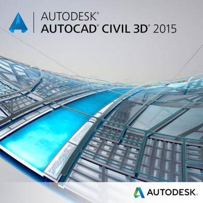 Программное обеспечение Autodesk AutoCAD Civil 3D 2015 Commercial Upgrade from Previous Version