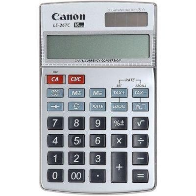 Canon Калькулятор LS-26 TC 16 разр. карманный расчет налогов валют