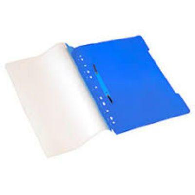 Бюрократ Папка-скоросшиватель PS20turg А4, прозрачный верхний лист бирюзовый