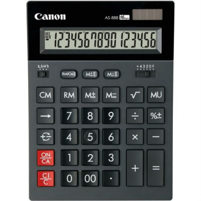 Canon Калькулятор AS-888 16 разр.