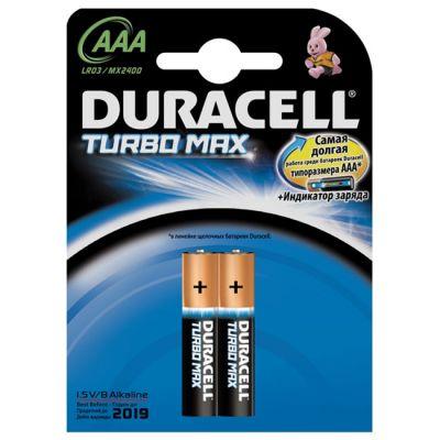 Батарейки Duracell Turbo (2 шт / AAA) LR03 / MX2400
