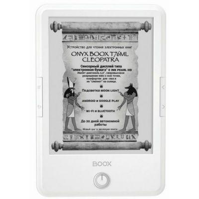 Электронная книга Onyx Boox T76ML Cleopatra White
