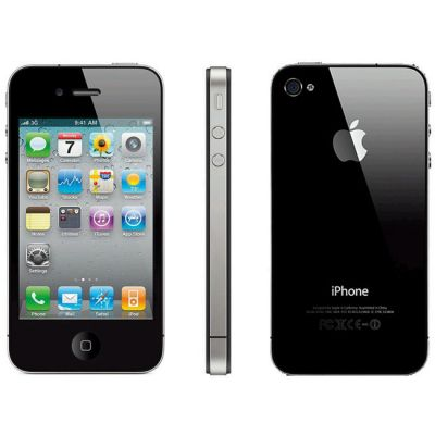 Смартфон Apple iPhone 4S 8Gb 3G Black MF265RU/A
