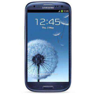 Смартфон Samsung Galaxy S III GT-I9300 Duos 16Gb Blue GT-I9300MBISER