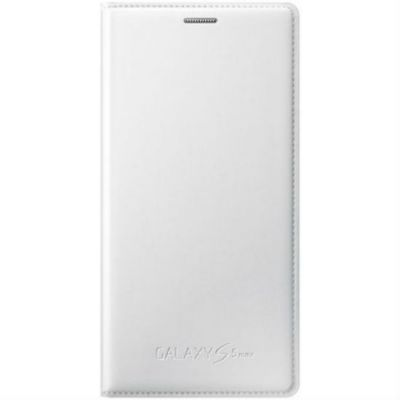 Чехол Samsung для Galaxy S 5 mini (белый) EF-FG800BWEG