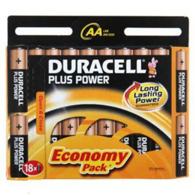 Батарейки Duracell Basic LR6-18BL AA