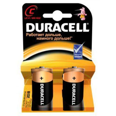 Батарейки Duracell LR14-2BL С 2шт