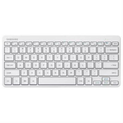 Клавиатура Samsung для Galaxy Tab, Bluetooth v3.0 (белая) EJ-BT230RWEG