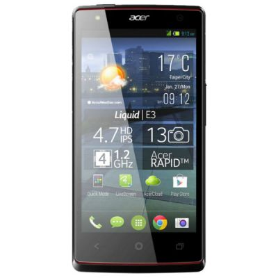 Смартфон Acer Liquid E3 Black HM.HDZEE.001