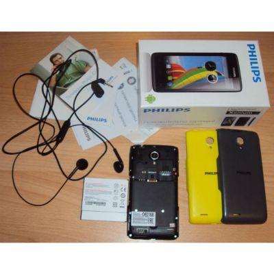 Смартфон Philips Xenium W6500 (серый) CTW6500GY/00
