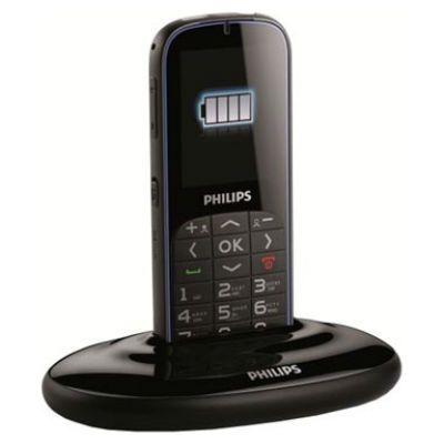 Телефон Philips Xenium X2301 (черный) 8712581679347