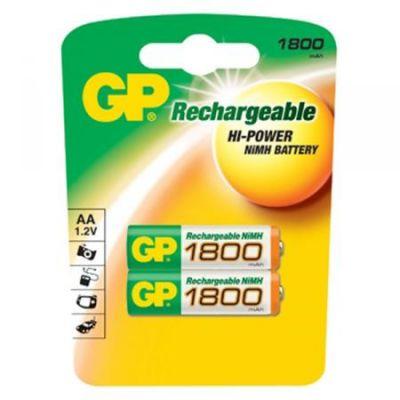 Аккумулятор GP 1800mAh AA 2шт 180AAHC-UC2