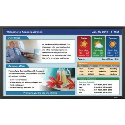 Интерактивный дисплей Sharp PN-E802