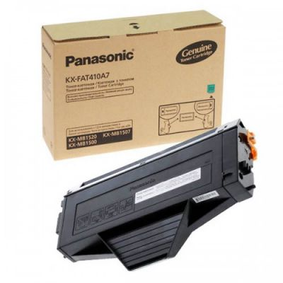 Тонер-картридж Panasonic Black/Черный (KX-FAT410A7)