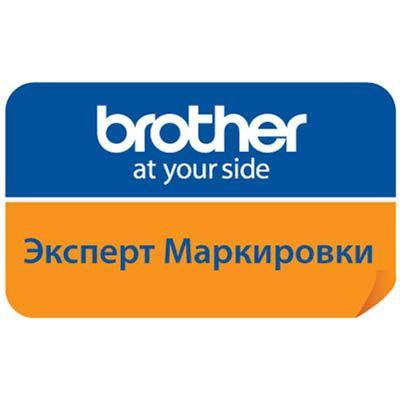 Устройство Brother для изготовления наклеек PT-D200VP в специальном кейсе