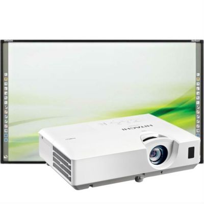 Интерактивная доска Hitachi Комплект интерактивная доска FX-89WE1 + проектор CP-EX300N
