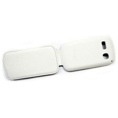 Чехол Armor-X для Alcatel POP C3 4033D flip full белый