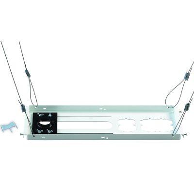 Крепление Chief Набор CMS440 для монтажа на тросах за подвесной потолок (595*203мм, служит основанием для вкручивания штанги CMS) CMS440