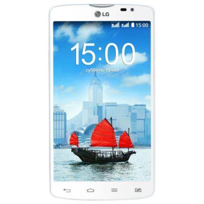 Смартфон LG L80 D380 White LGD380.ACISWH