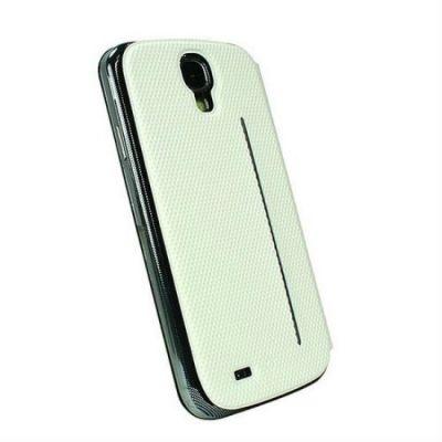 ����� Fenice Creatto Galaxy S4 Slim Folding Cover White Diamante