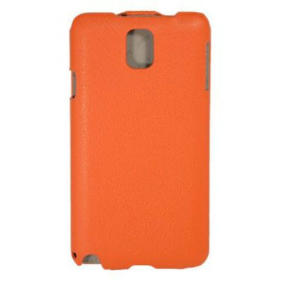 Чехол Armor-X для Galaxy Note 3 flip full оранжевый