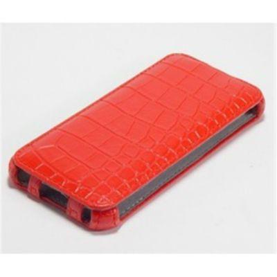 Чехол Armor-X flip Crocodile для Galaxy S 5 red
